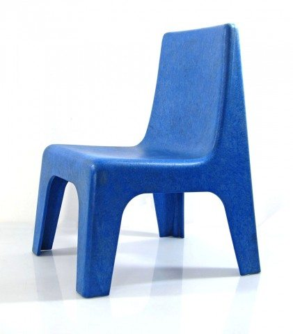 Children's Blue Plastic Chair - All Valley Party Rentals